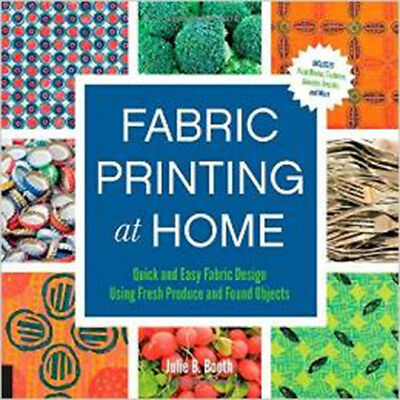 Quarry Books Fabric Printing At Home QU-39529
