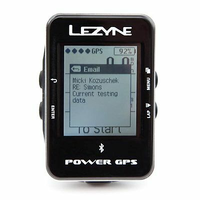 Lezyne Power GPS Bike Computer Cycling Computer Cyclocomputer