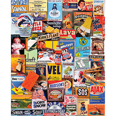 """Jigsaw Puzzle 1000 Pieces 24""""X30"""" Squeaky Clean WM1054"""