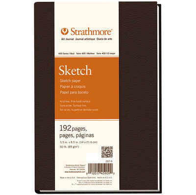 """Strathmore Sketch Journal 5.5""""X8.5"""" 96 Sheets 297900"""