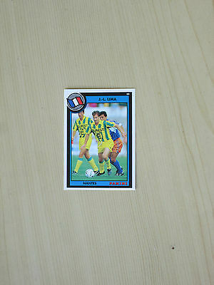 Carte official football cards panini 1993  LIMA   FC NANTES
