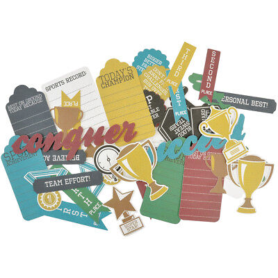Game On! Collectables Cardstock Die Cuts Awards CT792