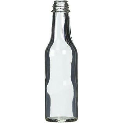 Hot Sauce Clear Glass Dasher Bottle - Empty - 5 oz - 12 Pack New