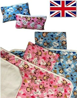 Baby Nappy Changing Mat Compact Portable Foldable Washable Travel Diaper Mat