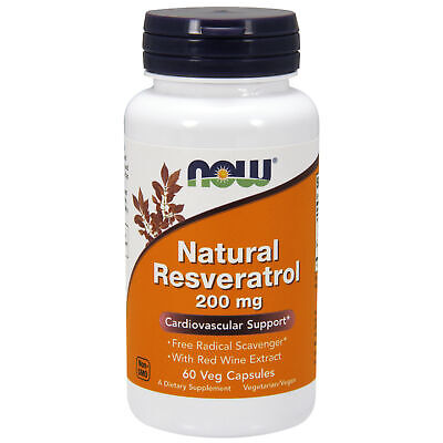 Natural Resveratrol + Red Wine Extract 200mg 60 Veg Capsules | Japanese Knotweed