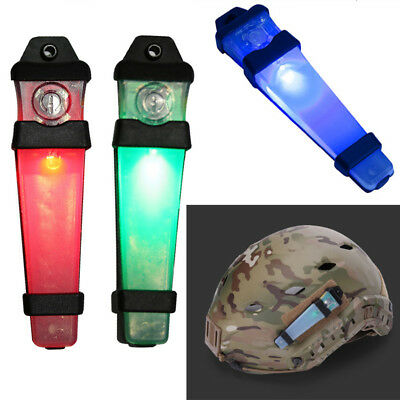 Military Tactical Assult Night Mission Helmet Safety Flash Lite Light