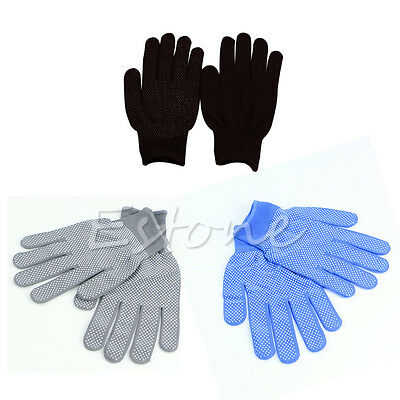 1 Pair Working Gloves Rubber Dot Anti-static For Worker Carpenter Electrician