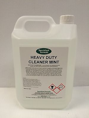Heavy Duty Cleaner And Engine Degreaser (Mint) 5 Litres