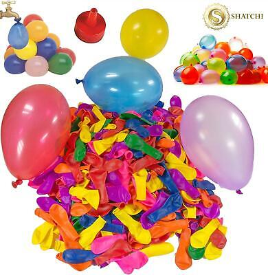 100 Water Balloons Bombs Kids Summer Outdoor Toy Fun Kids Party Bag Fillers