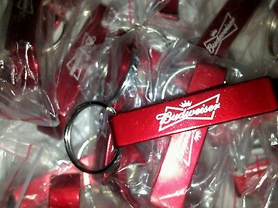 BUDWEISER Alcohol advertisement Keychain/Bottle Openers~