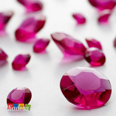 50 gr Diamanti centrotavola FUCSIA diamante rosa decorazione Wedding matrimonio