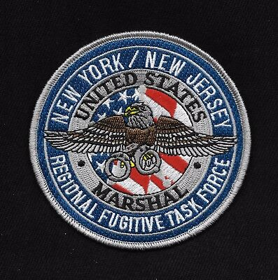 United States Marshals New York / New Jersey Regional Fugitive Task Force Patch