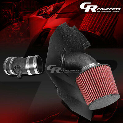 RED DRY AIR Filter Fit For 99-03 Frontier Xterra 3.3L Ram Air intake system