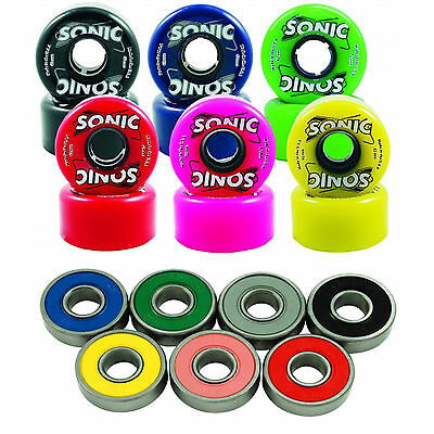 Outdoor Roller Skate Wheels and 8mm Bearing Sonic 85A with Sonic Abec 3
