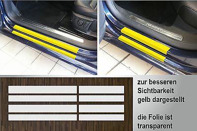 Lackschutzfolie clear Entrances Doors For VW Passat B7, 2010-2014