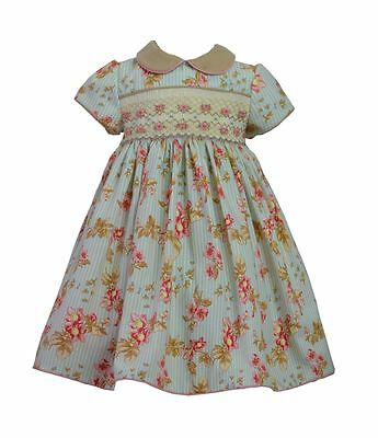 Pretty Originals Girls Smocked Dress & Headband MC00990 24m - 5years