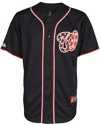 MLB Baseball Trikot/Jersey WASHINGTON NATIONALS navy - von Majestic