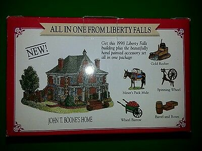 LIBERTY FALLS Collection Lot of 20 Collectibles Plus 3 Cornwall Collectibles