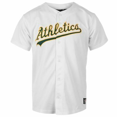 "Genuine Majestic Oakland Athletics Boy's Baseball Home Jersey,13-15yrs (36-38"")"