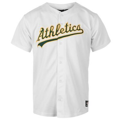 Majestic Oakland Athletics Junior Boys Baseball Home Jersey, Size: 13-15 Years