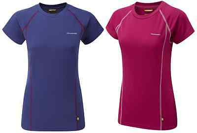 Craghoppers Vitalise base T Ladies women short sleeve quick dry base layer top