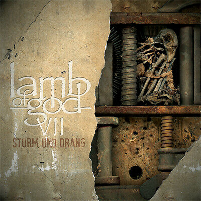 Lamb of God VII: Sturm und Drang SEALED CD !  FREE SHIPPING