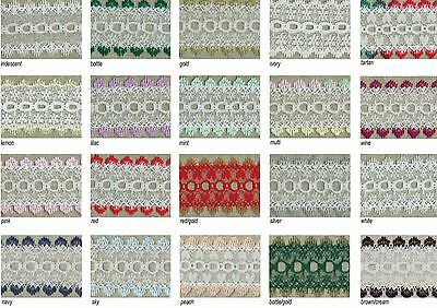 Knitting In Lace Eyelet Type - Wide Choice Of Colours And Different Lengths
