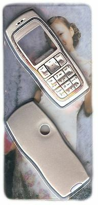 New!! Silver Housing / Fascia / Cover / Case for Nokia 3220