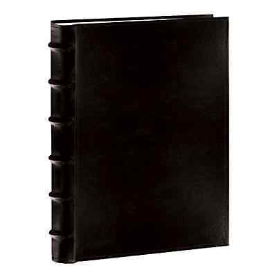Photo Pioneer Sewn Leather Album 4x6 Cover Frame Holds Black 300 Photos, New