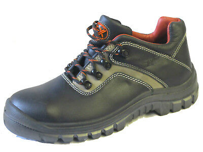 Totectors Mens Steel Toe Safety Shoes 2527 Black Leather UK Sizes 6 x12 (R13A)