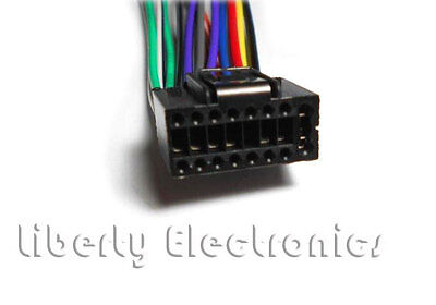 NEW CAR STEREO WIRE WIRING HARNESS for JVC new car stereo wire harness for jvc kd s12 kd s15 kd s16 jvc kd-s15 wiring harness at edmiracle.co