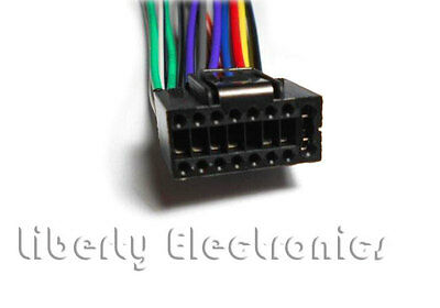 NEW CAR STEREO WIRE WIRING HARNESS for JVC new car stereo wire harness for jvc kd s12 kd s15 kd s16 jvc kd-s15 wiring harness at readyjetset.co