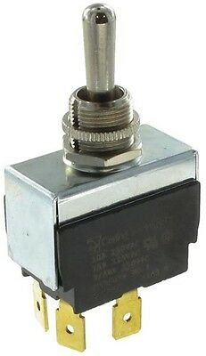 Carling Bat-HandleToggle Momentary Switch SPDT (On)-On-Off 15A/125Vac 10A/250Vac