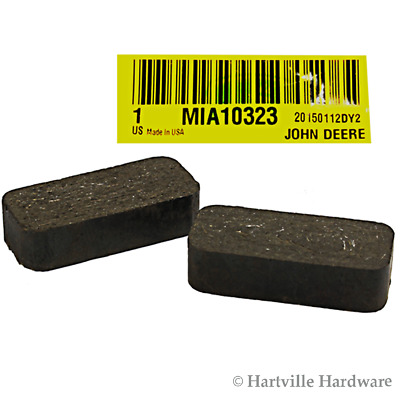 John Deere Original Equipment Brake Pad Kit #MIA10323