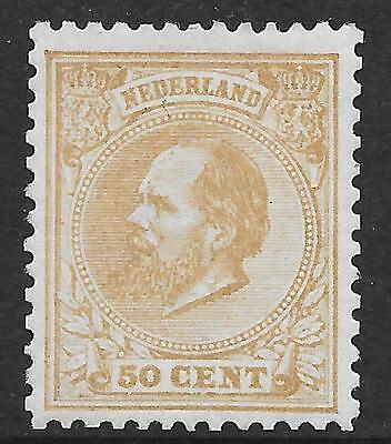 Netherlands stamps 1872 NVPH 27  FotoAttest Muis  MLH  VF  beautifull stamp!