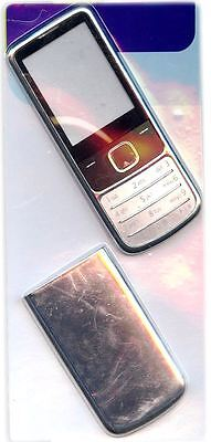 New!! Silver Housing / Fascia / Cover / Case for Nokia 6700C / 6700 Classic