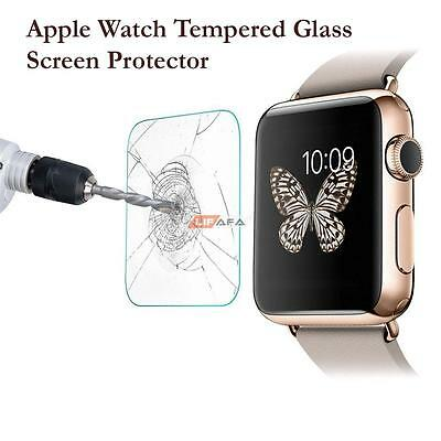 Apple Watch Tempered Glass Screen Protector for 38mm Front Cover iWatch
