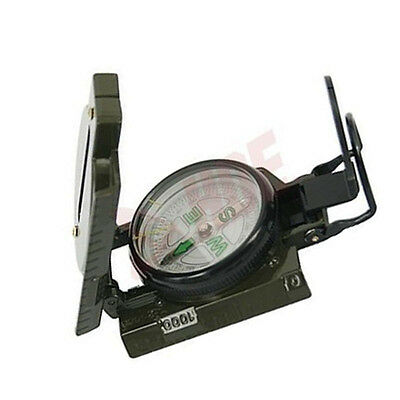 Army Style Compass Military Camping Hiking Survival Marching Metal Lensatic