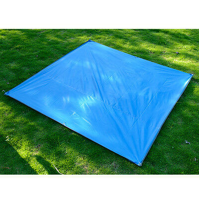 3~4 Persons Tent Tarp Portable Outdoor Camping Beach Picnic Pad Cushion Canopy