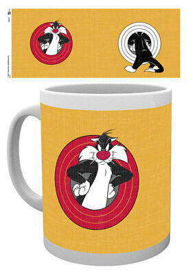 Looney Tunes - Ceramic Coffee Mug / Cup (Sylvester The Cat)