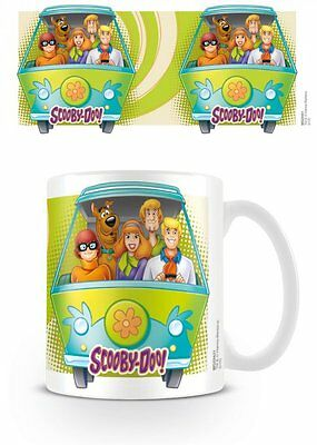 Scooby Doo - Ceramic Coffee Mug / Cup (The Gang & The Mystery Machine)