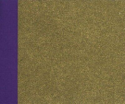 Gorgeous Japanese two sided origami washi paper / Gold & Purple / 10sheets /15cm