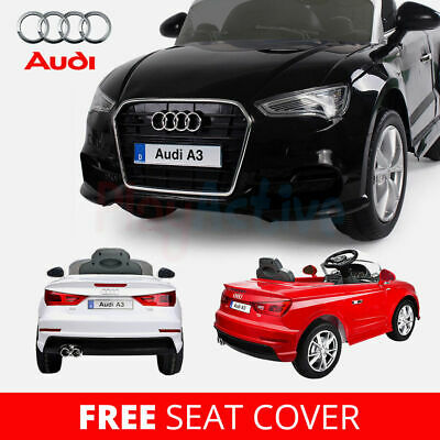 Audi A3 Licensed Kids Ride On Car 12V Twin Motor Battery 2.4G Remote Control Car