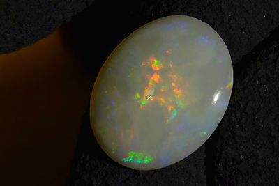 HUGE Australian Cooberpedy Solid Natural Genuine Fire Opal 5.0 Carats SEE VIDEO