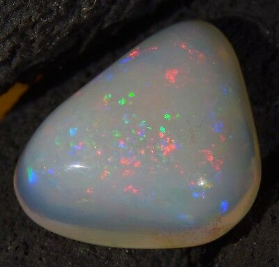 HUGE Australian Coober pedy Solid Natural Genuine Fire Opal 4.5 Carats SEE VIDEO