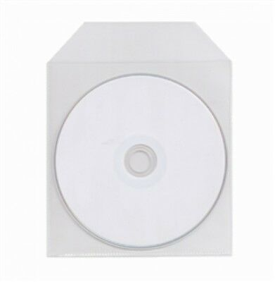 5000 CPP Clear Plastic Sleeve with Flap 120g