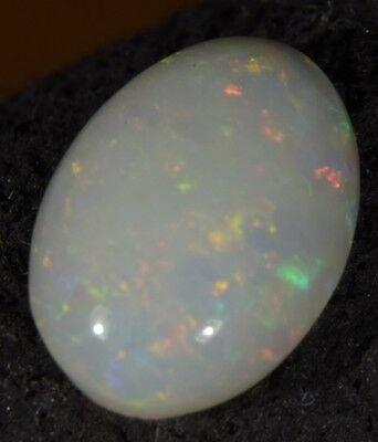 Australian Cooberpedy Solid Natural Genuine Fire Opal 1.5 Carats SEE VIDEO