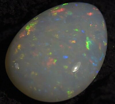 STUNNING Australian Cooberpedy Solid Natural Genuine Fire Opal 1.5 Cts SEE VIDEO