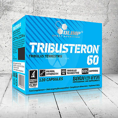 Olimp Tribusteron 60 500Mg Capsules Tribulus Terrestris Testosterone Booster