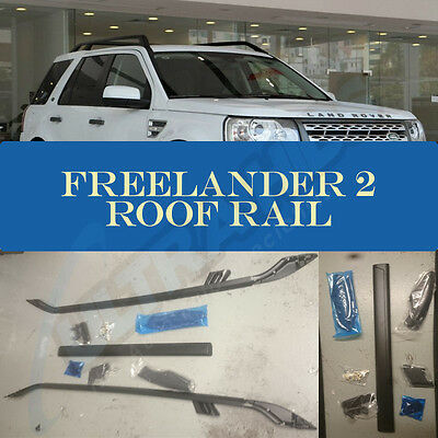 Land Rover Freelander 2 2007+ Luxury Roof Rail Bars Set + Cross Bar